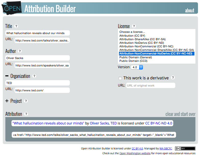 openwa.org open attribution builder example