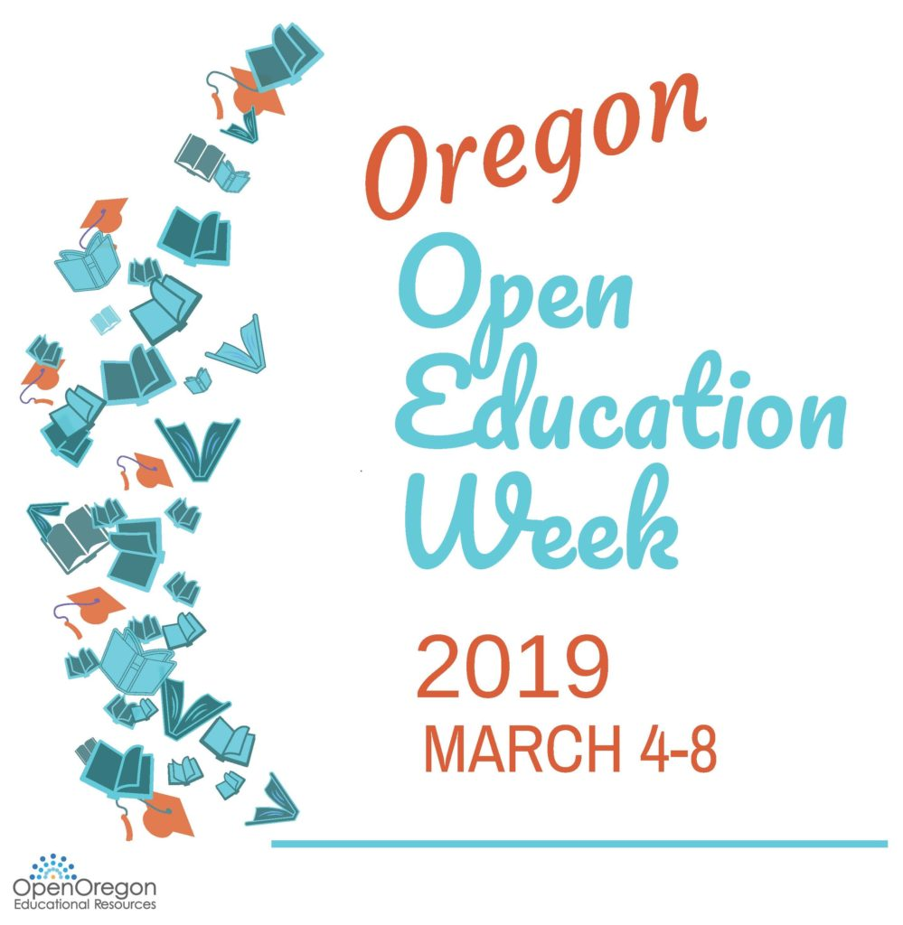 Oregon open ed week logo